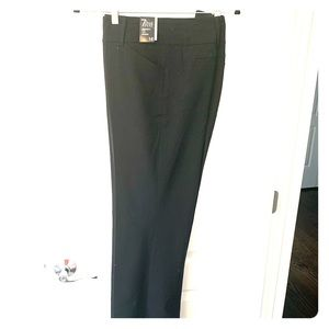 New York and Company black dress pants 16 long